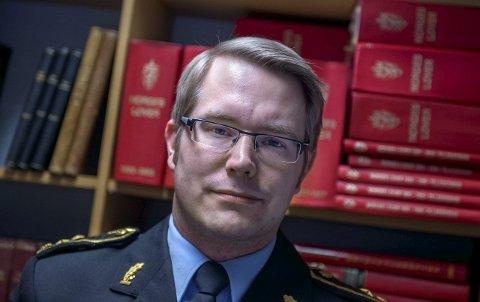 Politiinspektør Johan Petter Bærland.