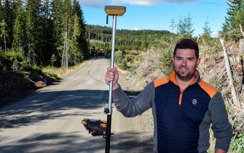 FORBEREDELSER: – Det er mye trafikk på denne veien, så oppgraderingen er etterlenget, sier Øystein Hatterud i kommunen.