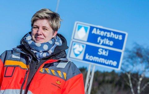 SER LYST PÅ DET: Statens vegvesens forslag til handlingsplan som ble lagt ut i høst, har gitt prosjektleder Elin B. Amundsen håp om at E18 gjennom Follo kan fullføres i 2026.