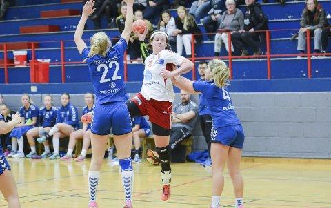 God: Kristina Rosten er et spennende navn i årets rekruttropp. I helgens Lerøy-åpning på hjemmebane satte hun inn 28 mål på tre kamper.