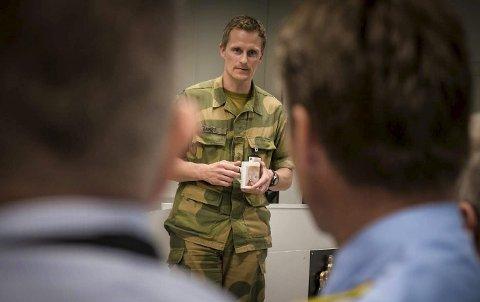 Stor øvelse: I morgen starter en stor Heimevernsøvelse blant annet i Larvik. Her vil aktiviteten bli størst rundt Larvik havn. – Men vi skal gjøre vårt for at ulempene for lokalsamfunnet skal bli minst mulig, sier HV 01's distriktssjef oberstløytnant Børge Gamst.