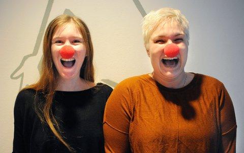 """INITIATIVTAGERNE Liv Neslowe og Line Kaupang inviterer til en dag for hele familien på Munken. """"Billetten"""" til konserten er et valgfritt bidrag på Vipps rett til Sykehusklovnene."""