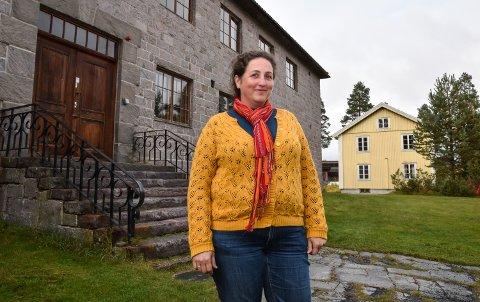 SKUMMEL UKE I VENTE: Laila Bækkevold lover skrekk og gru og spennende dager på Glomdalsmuseet.