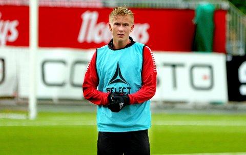 KLAR FOR ELVERUM: Angriper Brian Stangnes Kjeldsberg har signert for Elverum Fotball.