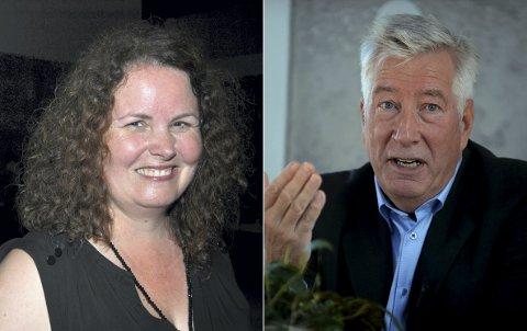 NEVNT I LEDERDISKUSJONEN: Både Sylvia Brustad og Sigbjørn Johnsen er nevnt i lederdiskusjonen i Innlandet Ap-