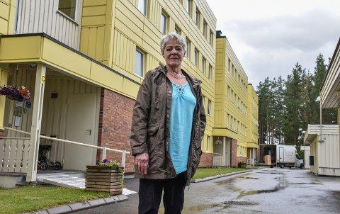 SKUFFET STYRELEDER: Else Hageberg håpet i det lengste at generalforsamlingen ville si ja til heiser i Grøndalsbakken borettslag.