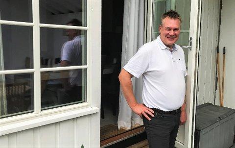 Arne Magnus Berge vil ikke røpe om han er tilbake i Venstre. - Det er personlig, sier han.