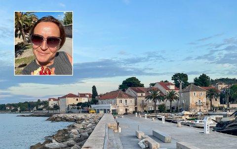 KOS: Retreat på øya Brac i Kroatia, i regi av With Love By Moen, har ifølge Sølvi Humblen vært en fulltreffer. – Dette blir ikke min siste tur.