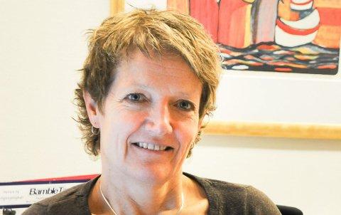KIRKEVERGE: Astrid Thomasberg.