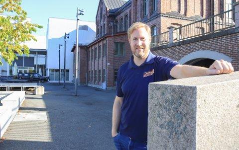 SJEF: Daniel Christensen skal ha et overordnet ansvar for begge serveringsstedene.