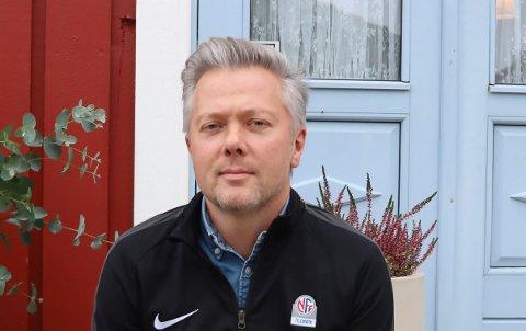 DAGLIG LEDER: Gaute Brovold i NFF Telemark.