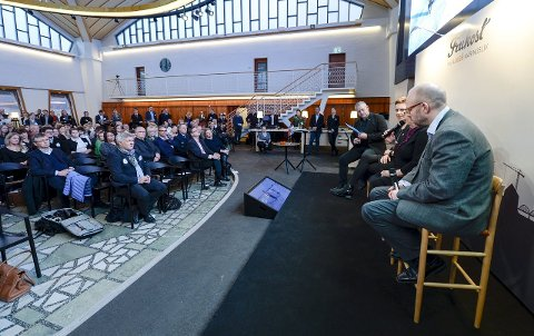 Frokostmøte: 300 personer møtte opp til frokostmøte i Luleå klokka 7.30 for å høre om samarbeid i nord.