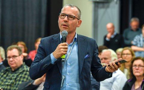 Helgelandssykehuset 2025. Mo i Rana er valgt. Bård Anders Langø, ordfører i Alstadhaug