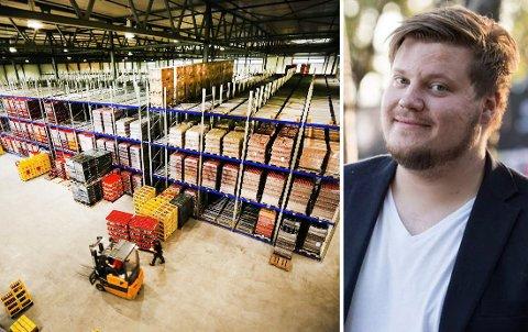 NEDSKJÆRINGER: Macks nye fabrikk i Nordkjosbotn blir hardest rammet av nedbemanningen. Rundt 15 ansatte må gå fra produksjonslinjen.