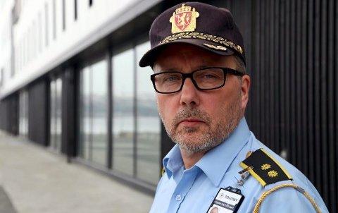– Det er trist at så mange velger å kjøre for fort, spesielt på vintervei, sier Geir Marthinsen.