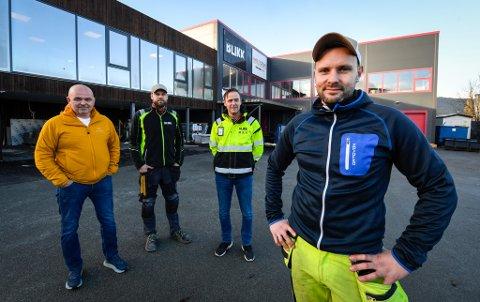 TH Blikk har doblet staben på ett år. Morten Nordtømme og Darius Verenius fra D&D bygg er blant flere som har kommet på lag med Tommy Høgås og Robin Krane.