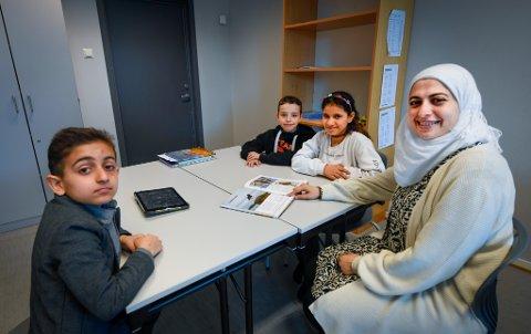 Morsmålsopplæring ved Lyngheim barneskole.