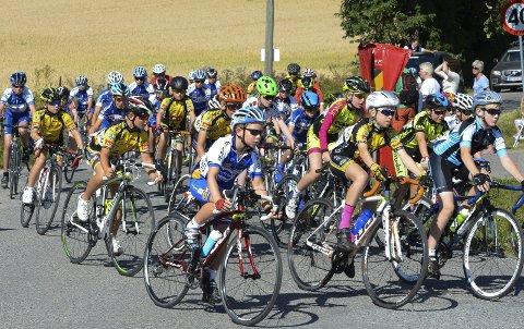 Hole og spesielt Røyse vil merke stor sykkelaktivitet i forbindelse med UM i helgen.