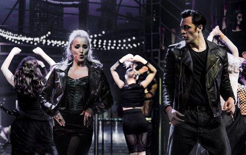 Charlotte Brænna og Bjørnar Erlandsen er som skapt for rollene som Sandy og Danny.