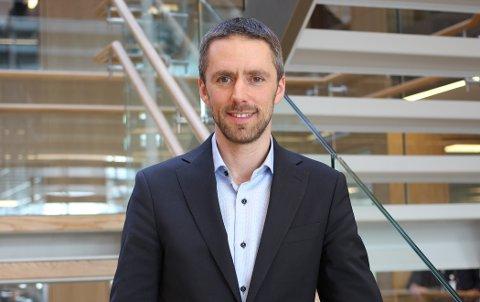 Daglig leder i Gjensidige Bolighandel, Andreas Løvdahl Ulvær.