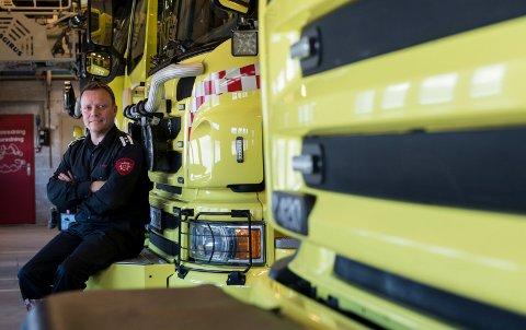 MYE Å GJØRE PÅ VINTEREN: Beredskapsleder Even Moan i Ringerike brann- og redningstjeneste.