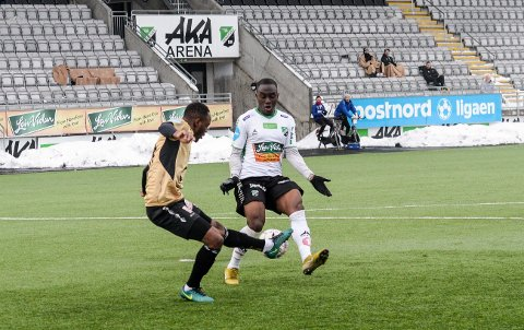 BLIR I ETT ÅR: Parris Mason (22) har skrevet kontrakt med Hønefoss BK.