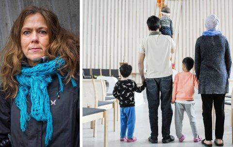 STØTTESPILLER: Kristin Moen Saxegaard er svært skuffet etter å ha mottatt domsavsigelsen fra Borgarting lagmannsrett.