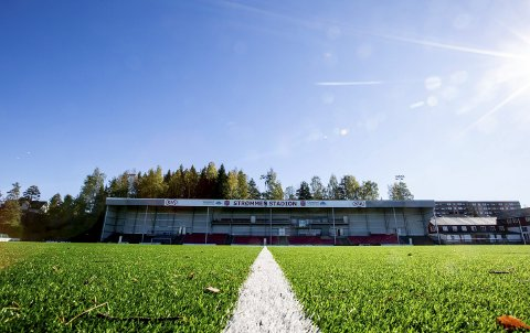 SAMLINGSPUNKT: Strømmen stadion er aktivitetsarena for drøyt 450 medlemmer i idrettslaget. FOTO: TOM GUSTAVSEN