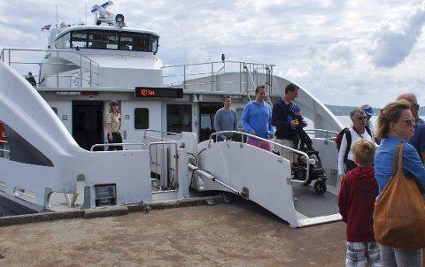 Sommerbåt i år også: Sommerbåten på Oslofjorden begynner å gå 18. juni. Arkivfoto
