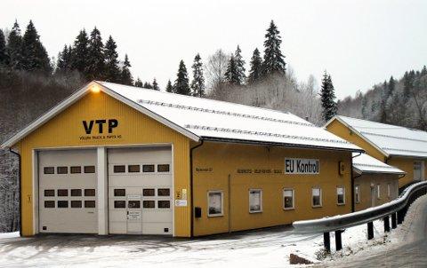 UTVIDER: Vollen Truck & Parts AS utvider verkstedet for å oppfylle kravene i forskriftene om EU kontroll fra Statens Vegvesen.