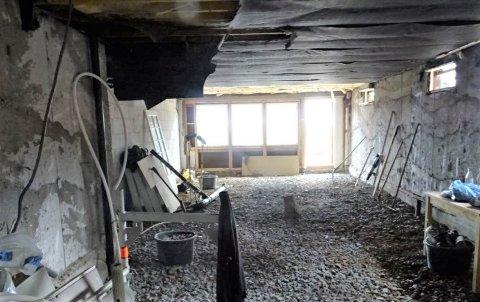 ENDRINGER: Ved tilsyn på denne byggeplassen ble det avdekket endringer som ikke var godkjent. - Ønsker man endring, så søk om det, oppfordrer byggesaksleder i Asker kommune, Malvin Bjorøy.