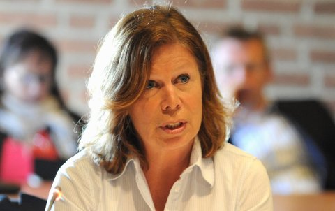 Karin Virik (V), gruppeleder Sandefjord Venstre