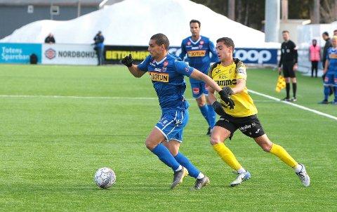 TILBAKE I STARTELLEVEREN: Mohamed Ofkir får sjansen fra start mot Sandnes-Ulf.