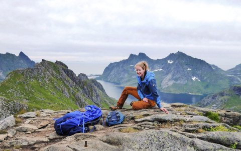 STOR LIVSENDRING: Marthe Norreen Thorsen (34) hadde sett for seg et liv som trafikkskolelærer. Slik ble det imidlertid ikke, men det gjør slettes ingenting, ifølge Sandefjord-kvinnen: – Jeg er veldig fornøyd med hvor jeg er i dag. Ja, jeg føler at jeg er på rett hylle nå, sier hun.