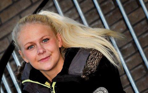 LETTET: Karoline Nilsen er lettet og glad over at Sarpsborg 08 har snudd og bestemt seg for å satse videre på damefotballen.