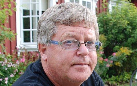 Bjarne S. Aaserød, sjef for Robert Normann-festivalen i Sarpsborg.