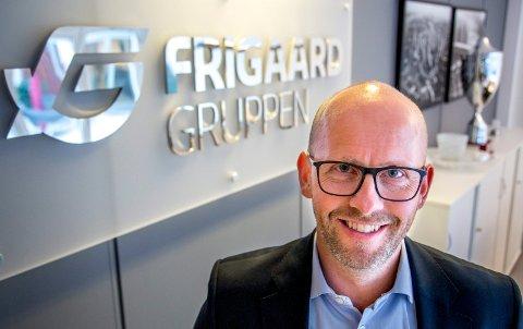 LEILIGHET: Ise-bosatte Trond Olav Frigaard har kjøpt seg leilighet i Oslo til den nette sum av 30 millioner kroner. Men han skal ikke flytte dit.