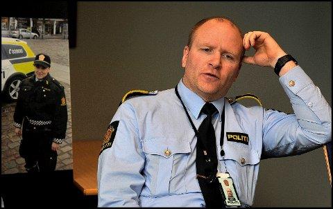 Leder for forebyggende avsnitt ved Sarpsborg politistasjon, Helge Stangeland, sier at denne påsken ikke er den rette å dra på hytta og la ungdommene være hjemme alene.