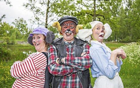 Egner-jubileum: Lørdag kan man blant annet oppleve «Klatremus og de andre dyrene i Hakkebakkeskogen» på Borgarsyssel.