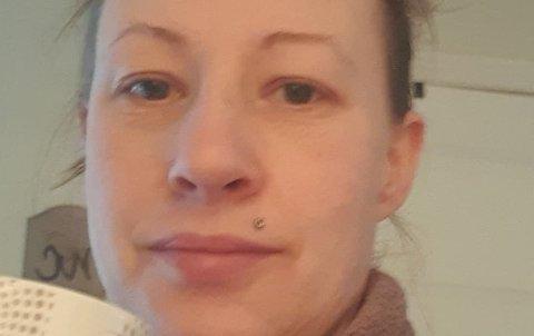 HJEMMEKARANTENE: Eva Strandhus er i hjemmekarantene sammen med store deler av Norge.