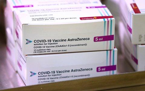 RULLES UT: Nå kommer denne vaksinen for fullt til norske kommuner.