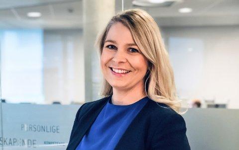 NY DIREKTØR: Cornelia Bjørke-Hill har blitt kommunikasjonsdirektør og er nå en del av konsernledelsen i Simployer.