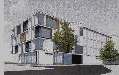 Takterrasse og uteservering: Erik Svarstad har planer om et serveringsted i første etasje og leiligheter i flere etasjer.
