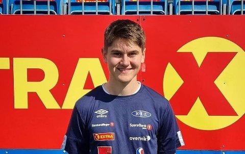 FLYTTER: 18-åringen Jørgen Jenshus flytter fra Steinkjer til Trondheim og er nå Ranheim-spiller