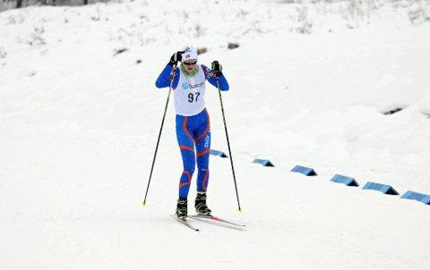 VANT: - Jeg er veldig godt fornøyd med løpet, sa Åste Eika fra Bø etter vel overstått renn. FOTO: FRODE BERG