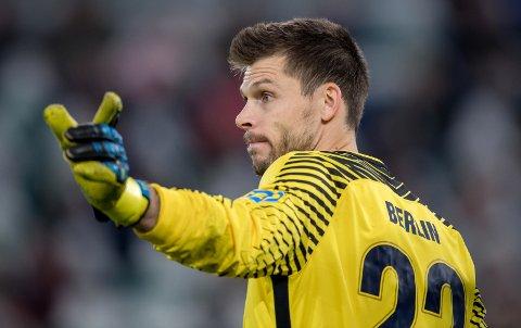 AKTUELL?: Rune Almenning Jarstein lanseres som en mulig ny Bayern München-keeper. Foto: Thomas Eisenhuth/dpa-Zentralbild/ZB