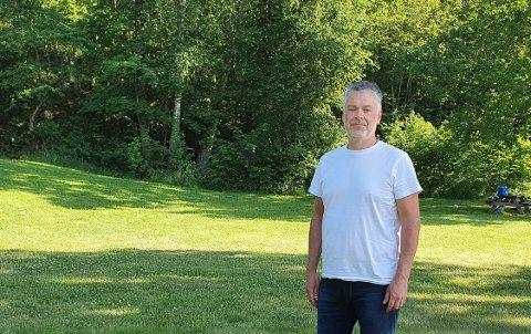 I BEREDSKAP: – Antall branner har sunket drastisk de siste årene. Vi har oppgradert beredskapen vår, forteller kommunikasjonsansvarlig ved Bjorstaddalen avfallsanlegg i Skien Haakon Wærstad.