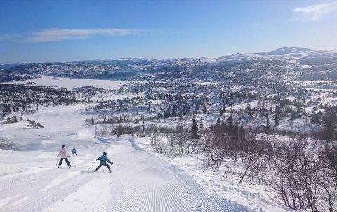 LØYPENETT: Det er 60 kilometer løypenett ved Hallbjønnsekken i Vest-Telemark
