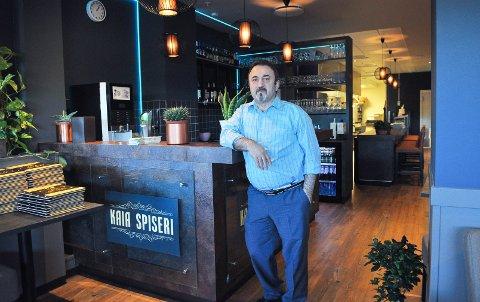 Ismail Hakki Filiz har lagt ut restauranten sin for salg.
