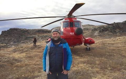 It's a wrap! Filminnspillingen på Atlanterhavsveien er over og den norske linjeprodusenten Per Henry Borch takker for lånet av Atlanterhavsveien.